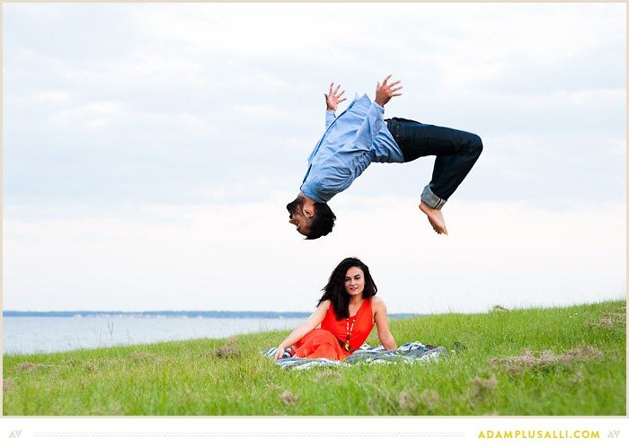 engagement photos dont get much cooler than this   photography by Adam + Alli