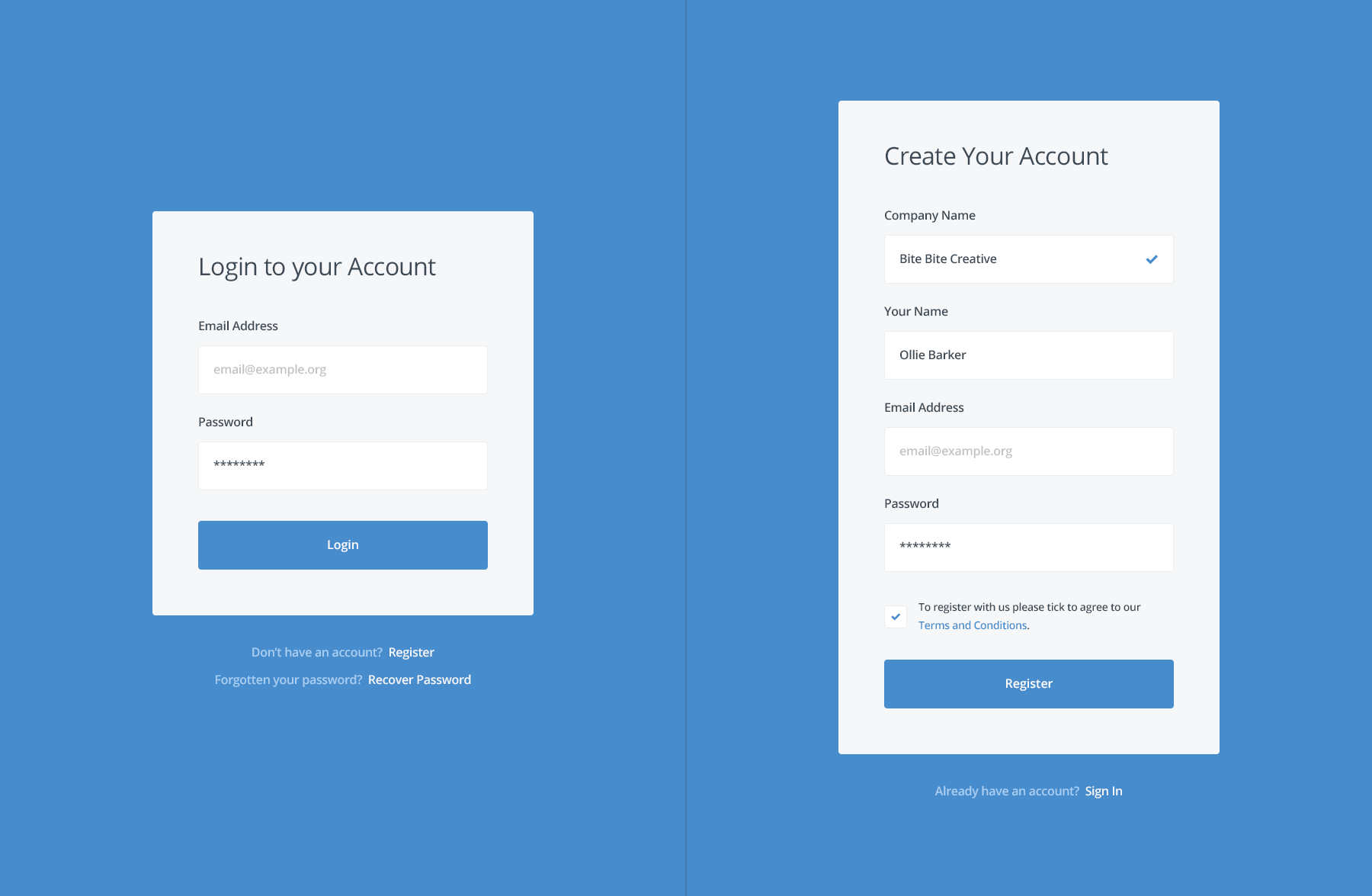 login register full png by ollie barker web development design app design web design login register full png by ollie barker