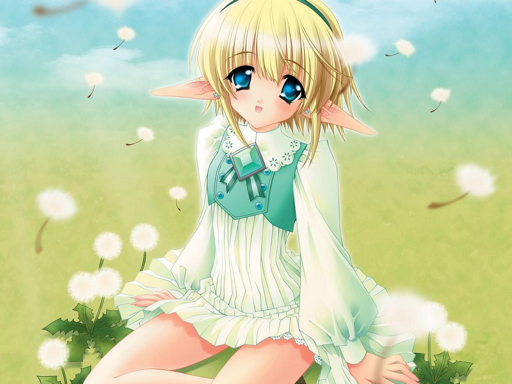 Anime Characters Images : Anime elf pinterest