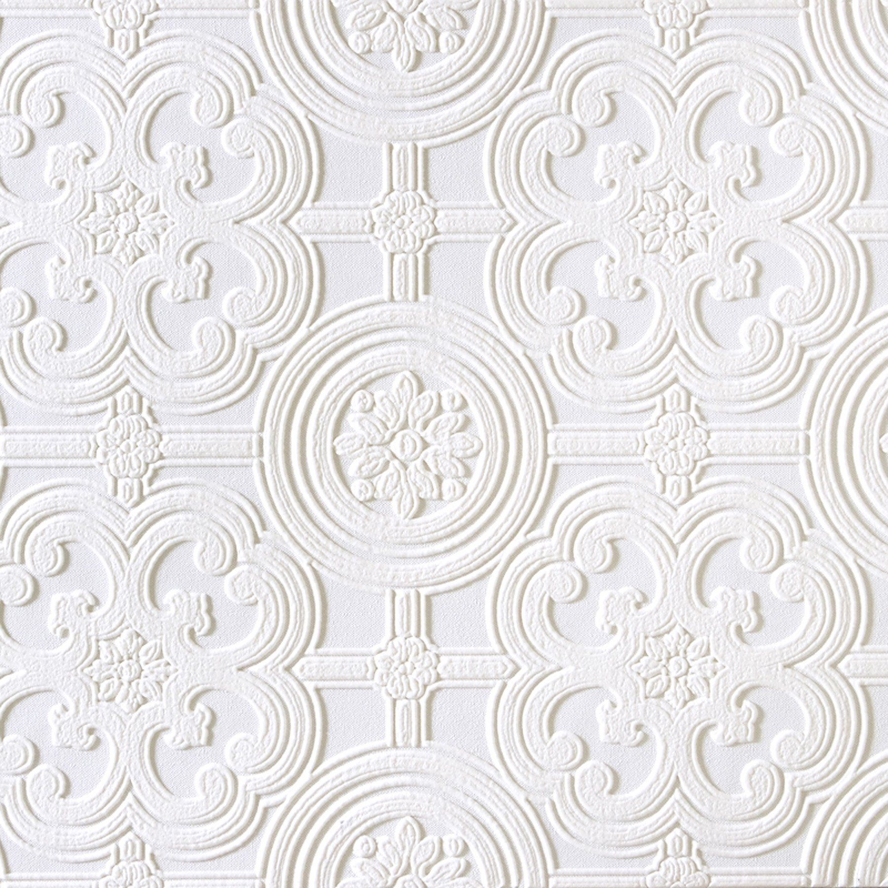 Brewster RD80029 Anaglypta Wallpaper, 21Inch x 396Inch