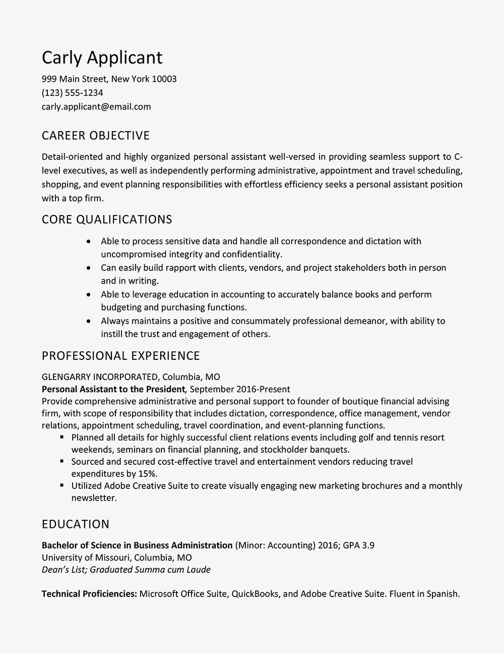 71 Unique Photos Of Sample Resume Accounting Lecturer Resume Examples Good Resume Examples Job Resume Examples