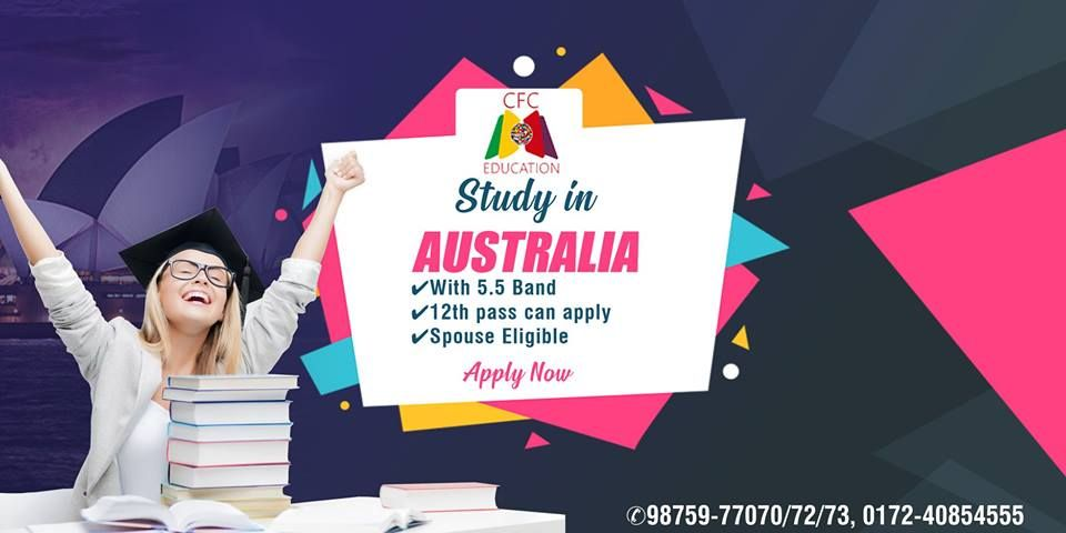Good News Study In Australia With Spouse Ielts Band