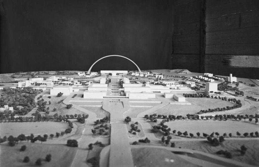 Modello di studio del primo piano urbanistico dell for Piano di studio