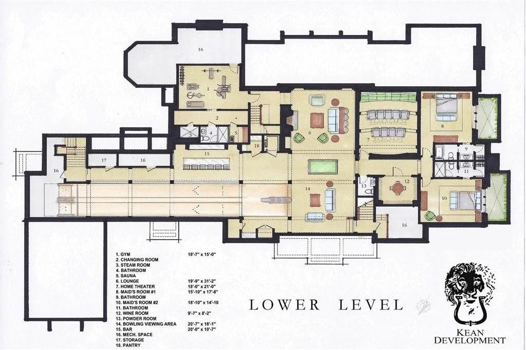 Property Of Twin Peaks Luxury Estate Floor Maps