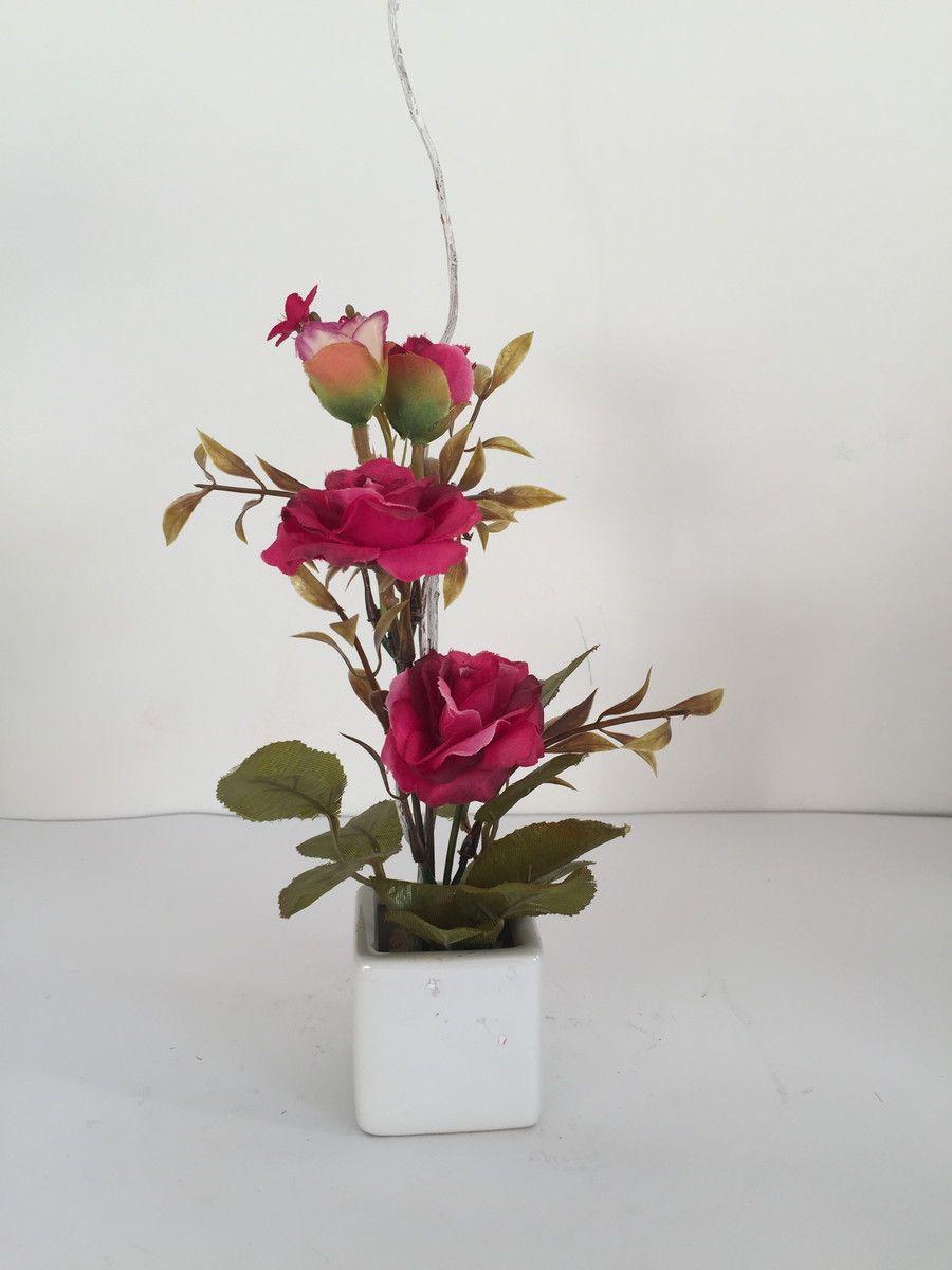 Arranjo De Rosas Artificiais Mini Com Imagens Arranjos De