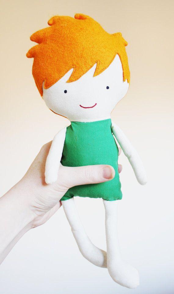 Doll Sewing Pattern Toy Cloth Boy Doll Pattern Dog PDF - Hunter ...