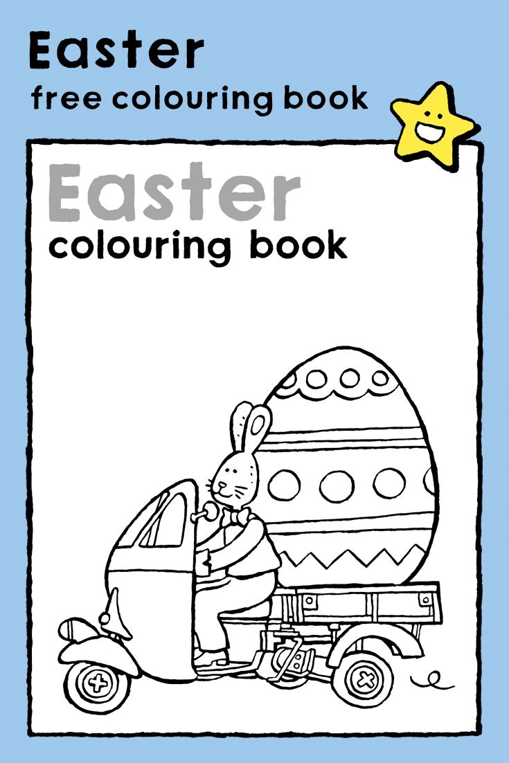 Easter Colouring Booklet Kiddicolour In 2020 Easter Coloring Book Easter Colouring Easter Coloring Pages
