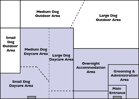 Image result for dog daycare floor plans | Grooming Reality ...