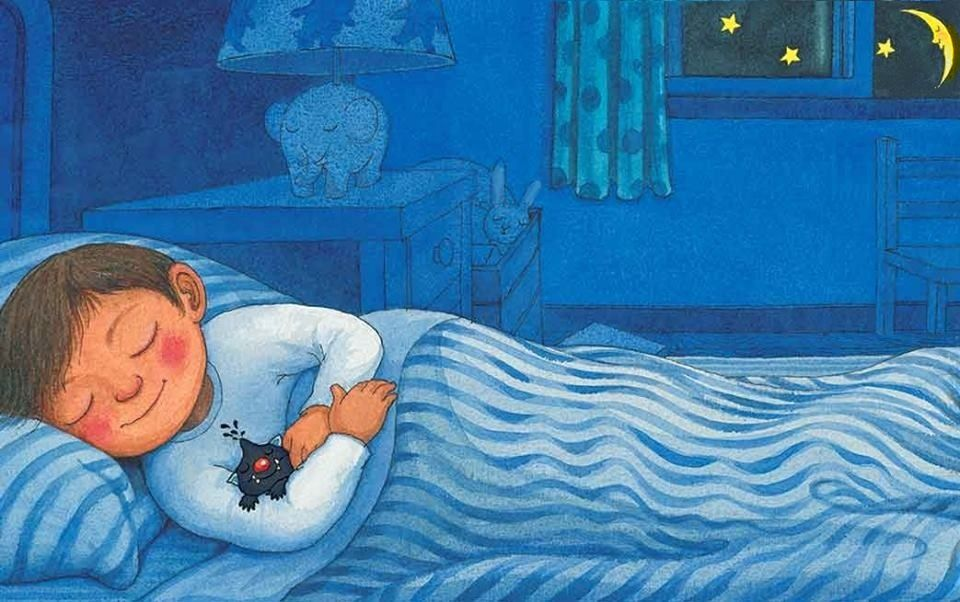 Sleeping Boy Cartoon Illustration Via Facebook GleamOfDreams