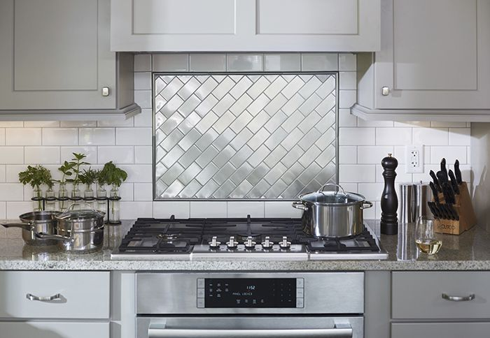 Two Diffe Types Of Subway Tile Offer Visual Interest