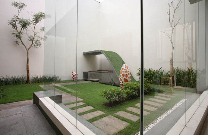 Gambar Dari Model Rumput Sintetis Taman » Gambar 6 | Rumah, Rumah Minimalis, Eksterior