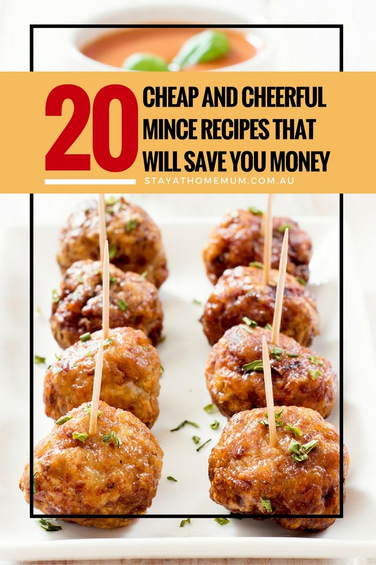 20 Cheap And Cheerful Mince Recipes That Will Save You Money Stay At Home Mum Cuisine Recette