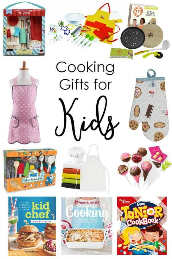 20 fun cooking gifts to get kids in the kitchen featured recipes