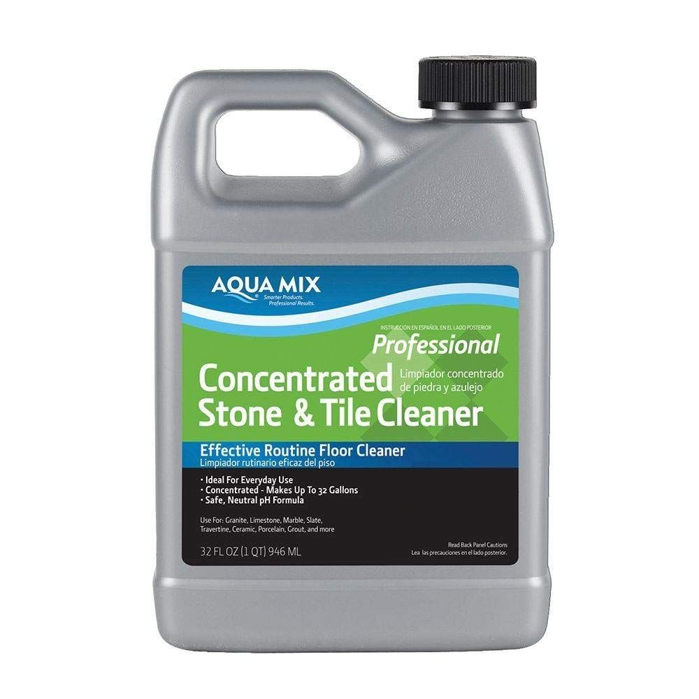 Aqua Mix 32Ounce Concentrated Stone and Tile Cleaner