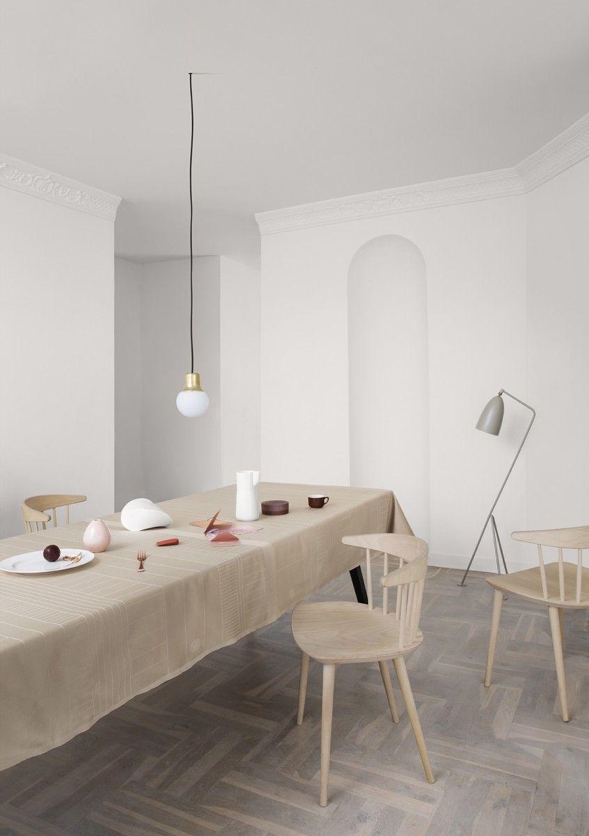 Mejuki Georg Jensen Damask Table Inspiration Interior