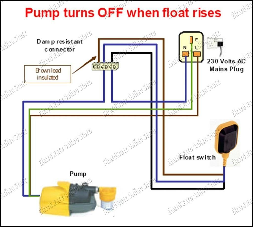 float switch schematic wiring diagram