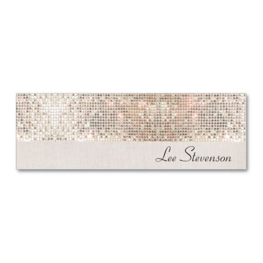Stylish modern fun trendy silver sequins mini business card stylish modern fun trendy silver sequins business card template this is a fully customizable business colourmoves