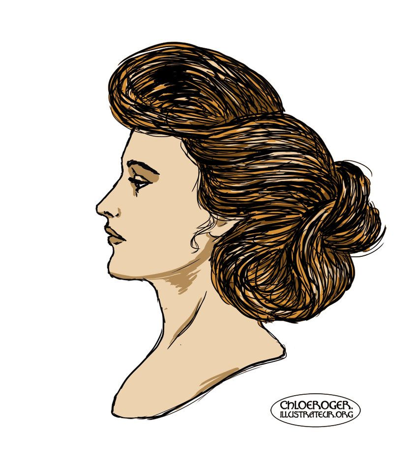 Gibson girl by lataupinette on deviantart makeup and hair a gibson girl im trying to draw only with my tablet baditri Gallery