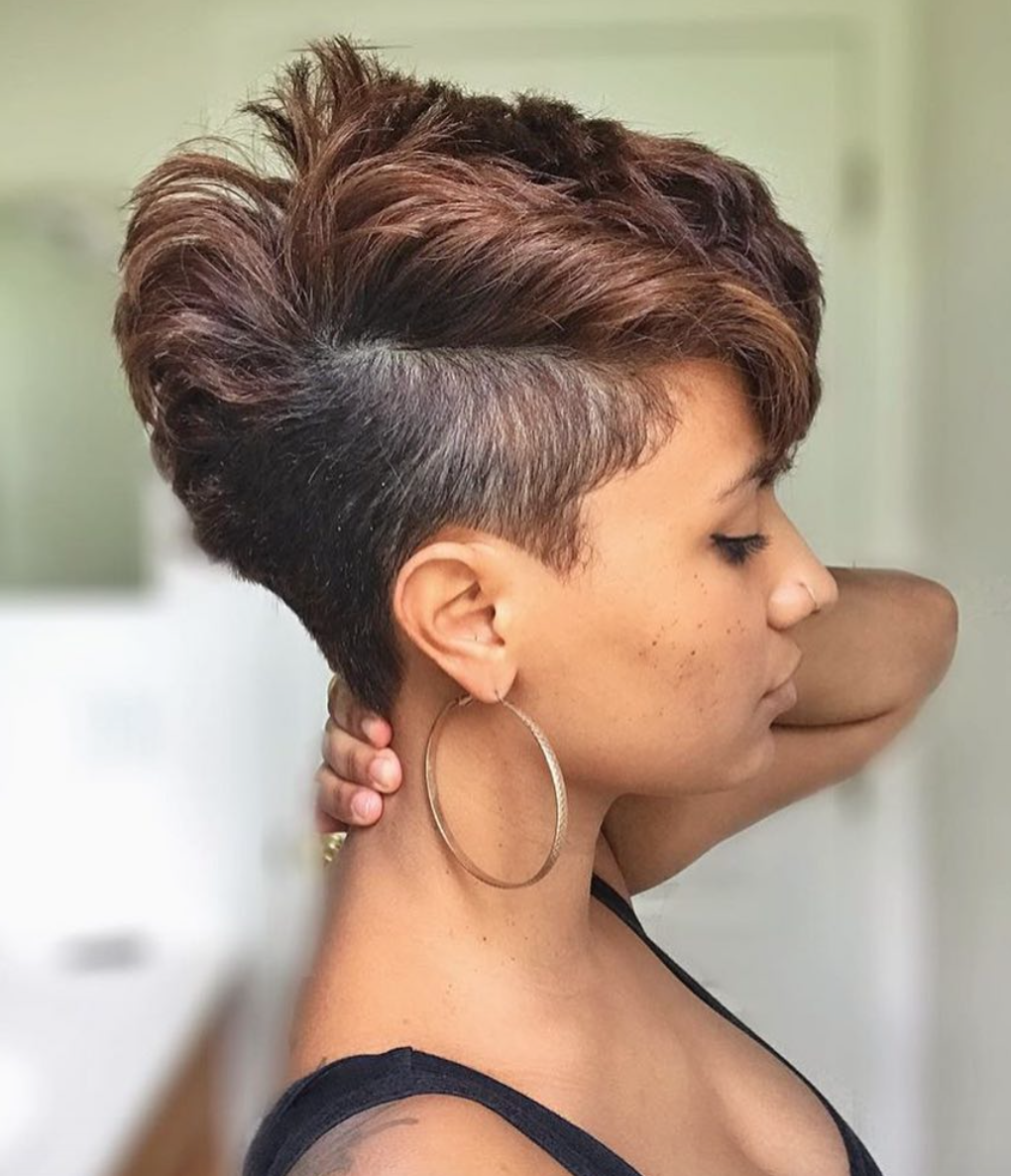 Nice Hairstyles Beauteous Beautiful Cutstylemefabsalon  Httpsblackhairinformation