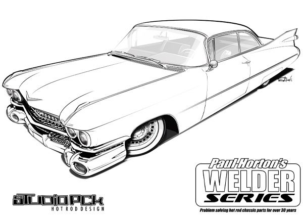 printable coloring pages of cadillac - photo#25