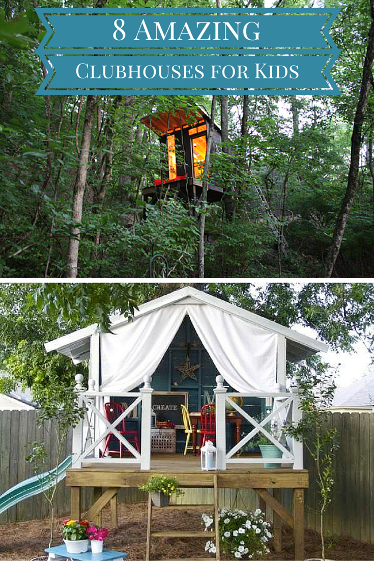 8 kids clubhouses you never want to outgrow backyard fort