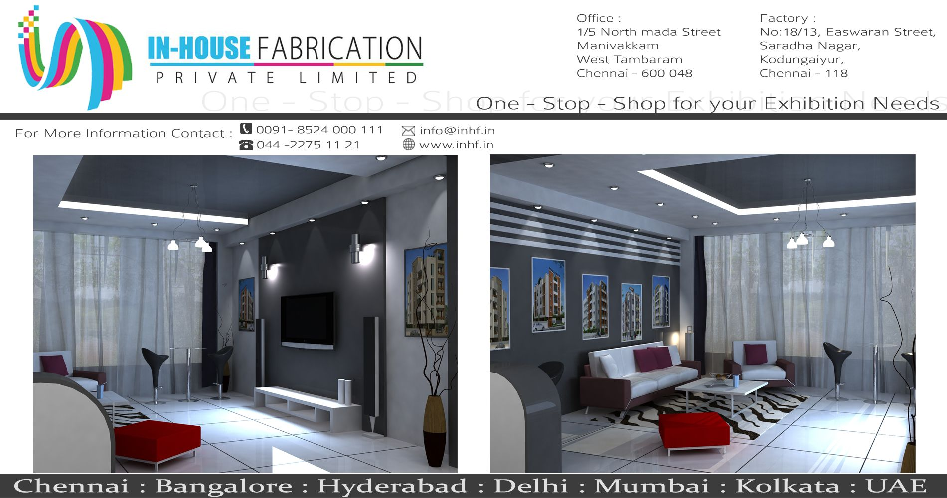 Exhibition Stall Fabricators In Chennai Design And Fabrication