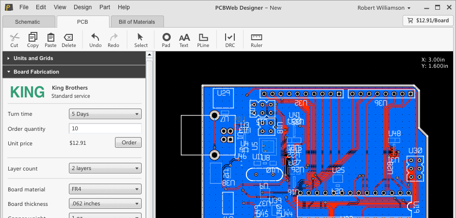 best free pcb design software useful and online graphic | Projekty ...