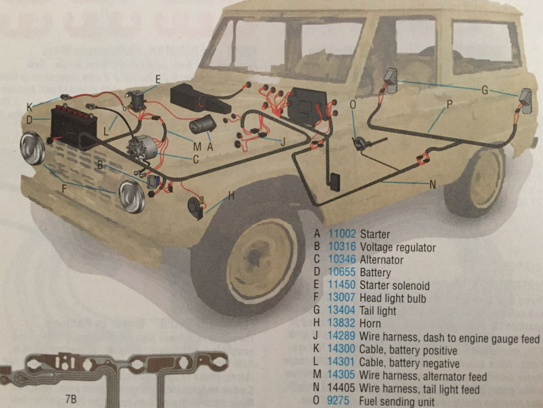 1972 Ford Bronco Alternator Wiring
