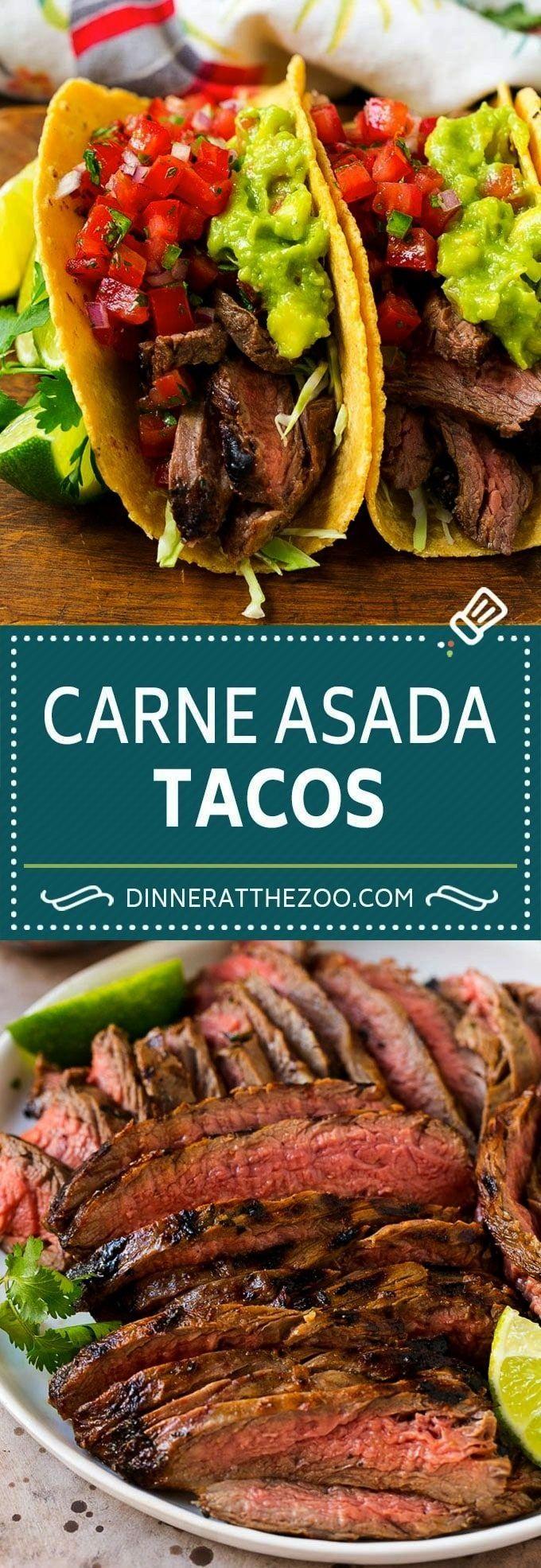 Asada Tacos Recipe | Beef Tacos | Steak Tacos | Carne AsadaCarne Asada Tacos Recipe | Beef Tacos |