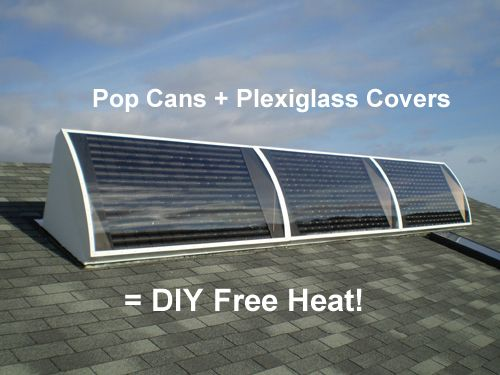 How To Go Green This Winter With Diy Free Heating Solar Diy Solar Solar Power