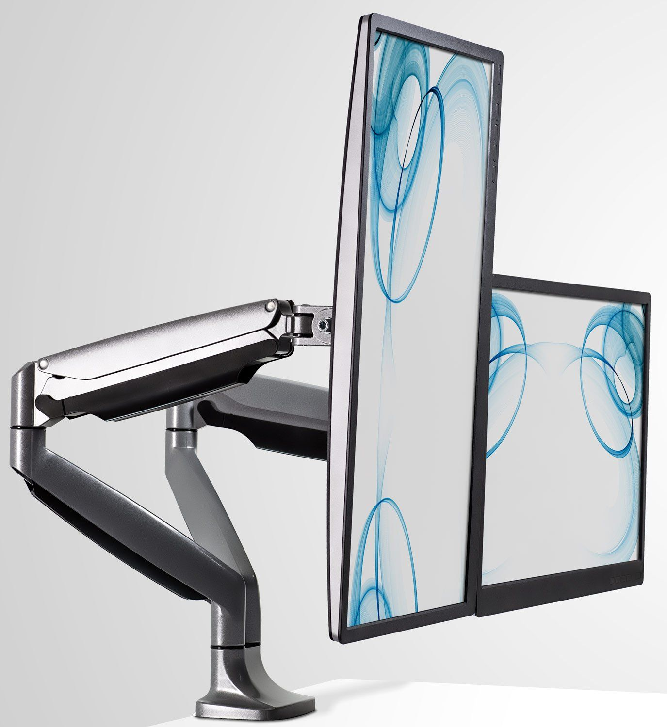 Mountit monitor desk mount computer monitor stand height