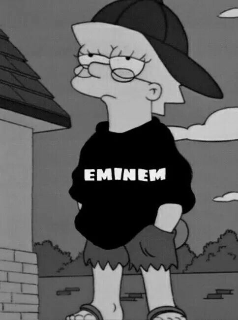 Lisa Simpson Eminem Eminem Wallpapers Eminem Rap Eminem