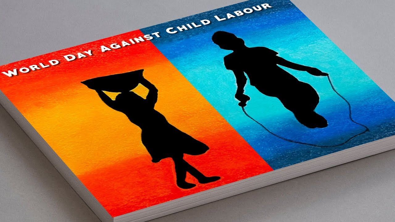 HOW TO DRAW STOP CHILD LABOUR POSTER DRAWING WITH OIL ...