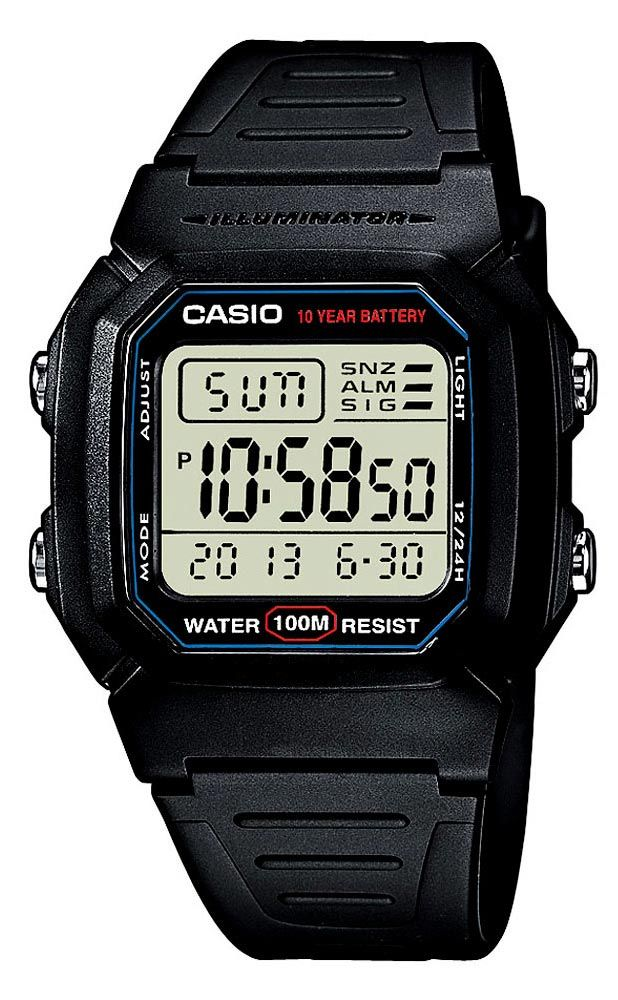 b6c9466a0 Shop Casio Mens W800H-1AV Classic Digital Sport Watch online at lowest price  in india and purchase various collections of Casual Watches in Casio brand  at ...