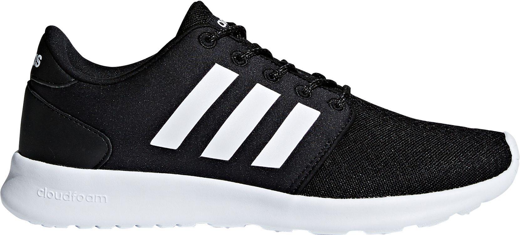 buy online 7fb57 8f506 adidas Women s Cloudfoam QT Racer Shoes, Size  10.0, Black