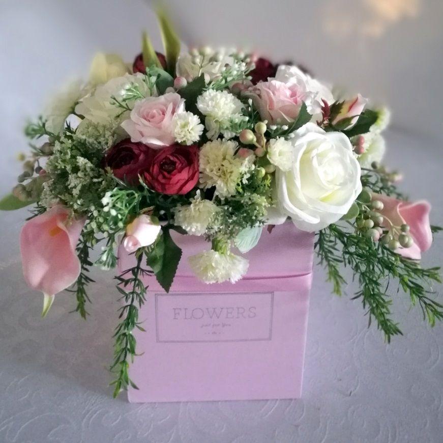 Wiosenne Kwiaty W Pudelku Nr 193 Swiateczne Atelier Flower Boxes Flowers Balloon Gift