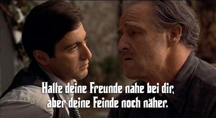 der pate sprüche Der Pate Zitate: Die besten Sprüche der Corleone Familie | 1970's  der pate sprüche
