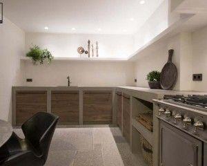 Keuken betonstuc betonstuc keuken in kitchen