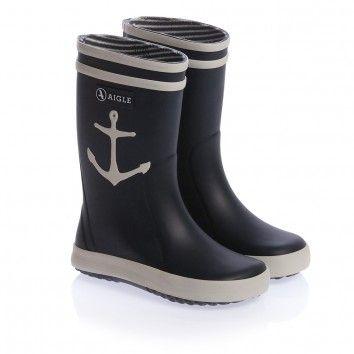 huge selection of 44397 ff474 26730 Blue Anchor Rain Boots Aigle | **kid`s shoes**