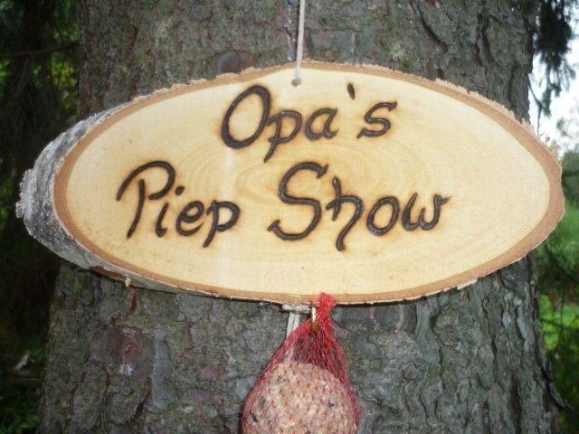 Opa´s Piep Show?? von Holz- Kreativ auf DaWanda.com (Vogelhaus Diy ...