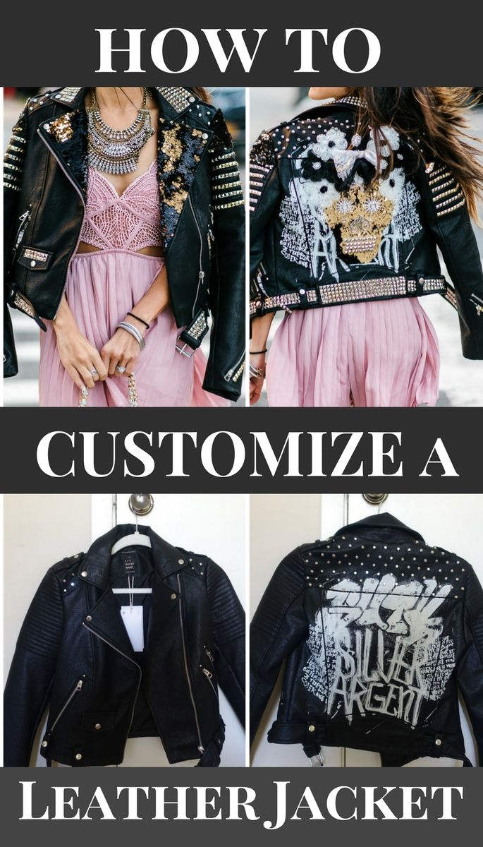 How to Customize Your Leather Jacket for Under $50 DIY