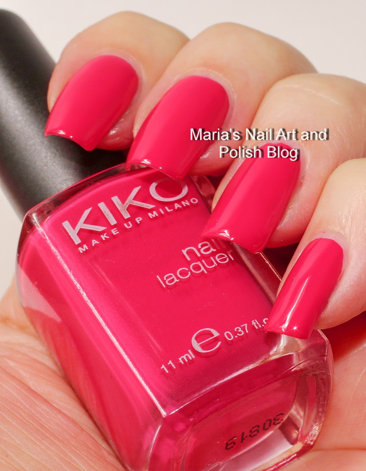Marias Nail Art and Polish Blog: Kiko 389 Mint Milk and 362 ...
