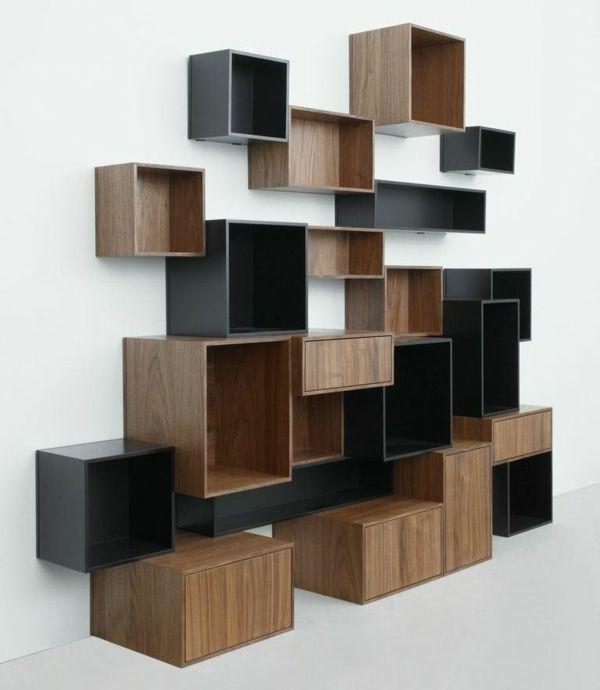 Wandregale cubits eckregal design mein heim regal for Moderne wandregale wohnzimmer