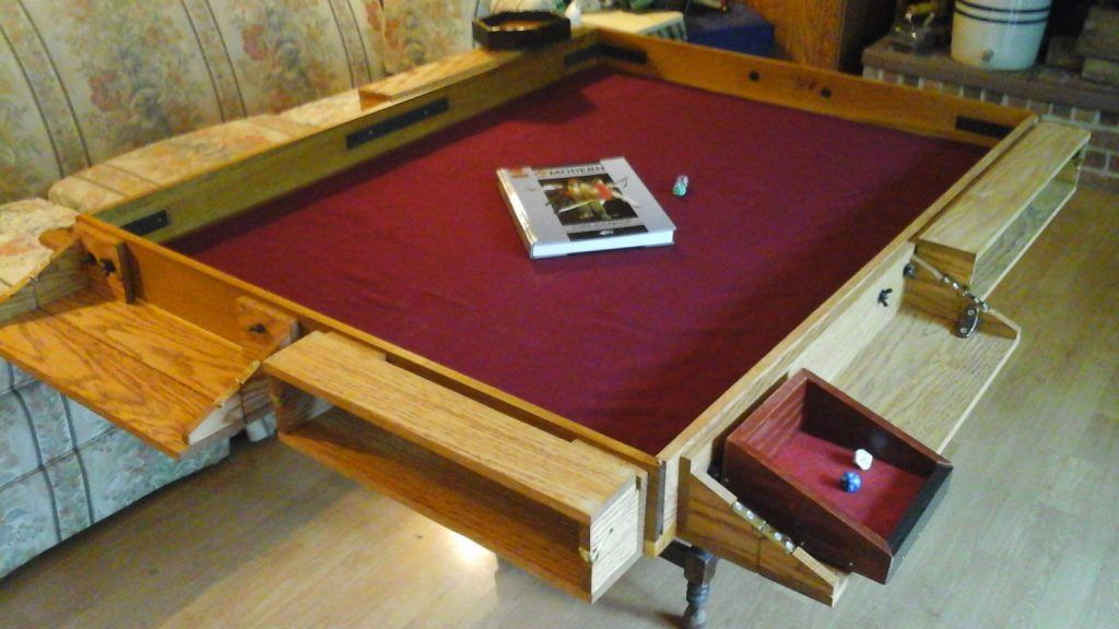 Board Game Table Design Deposit Game Dais RPG Card Board Gaming By  GameNightGeek On Chair And