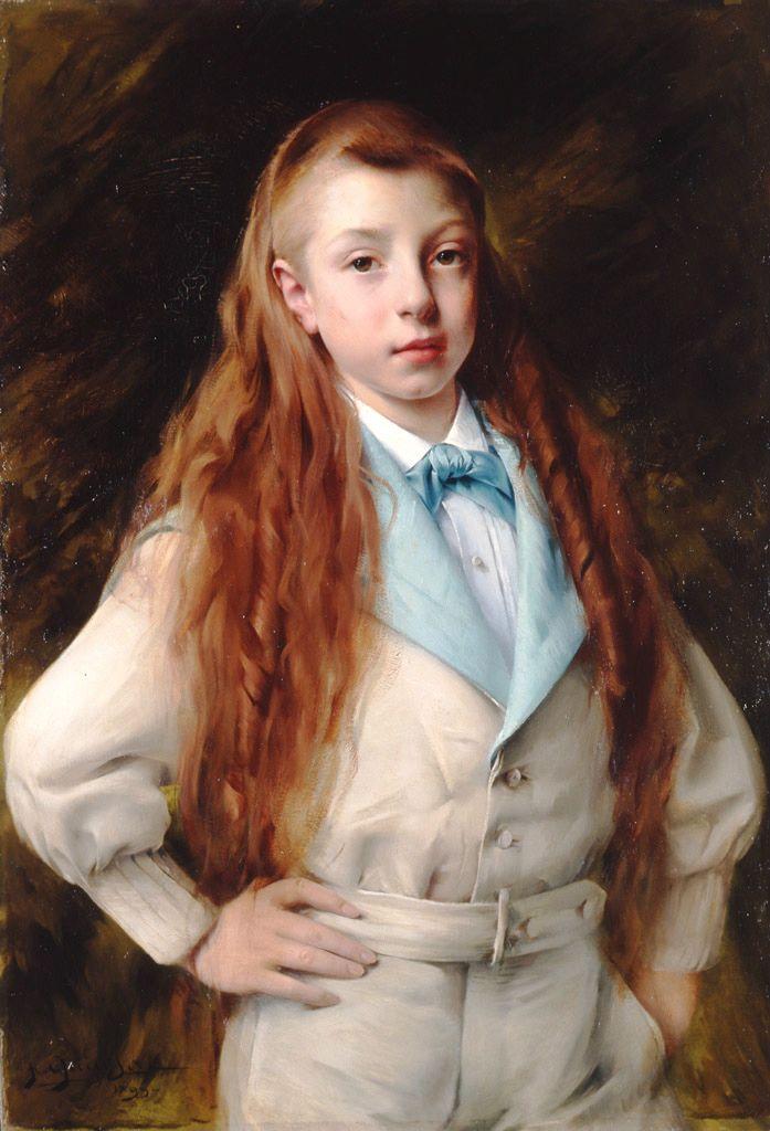 Paul-François QUINSAC. Portrait de Jean Rigaud, 1899
