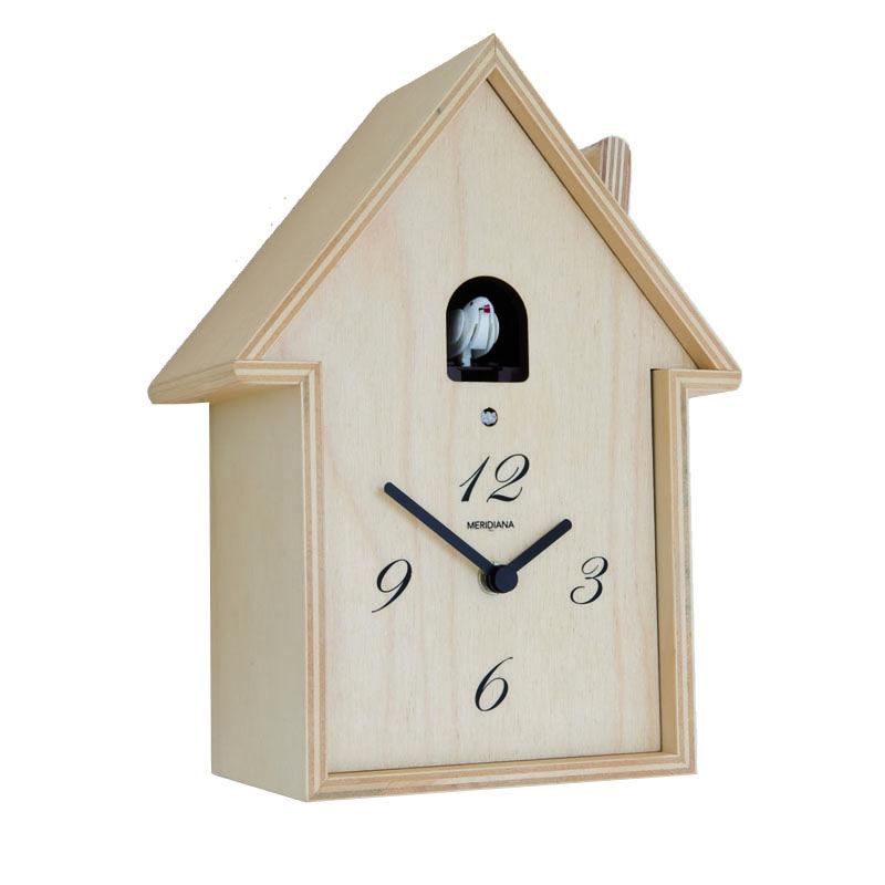 horloge coucou en bois brut traditionnel style rustique pinterest. Black Bedroom Furniture Sets. Home Design Ideas