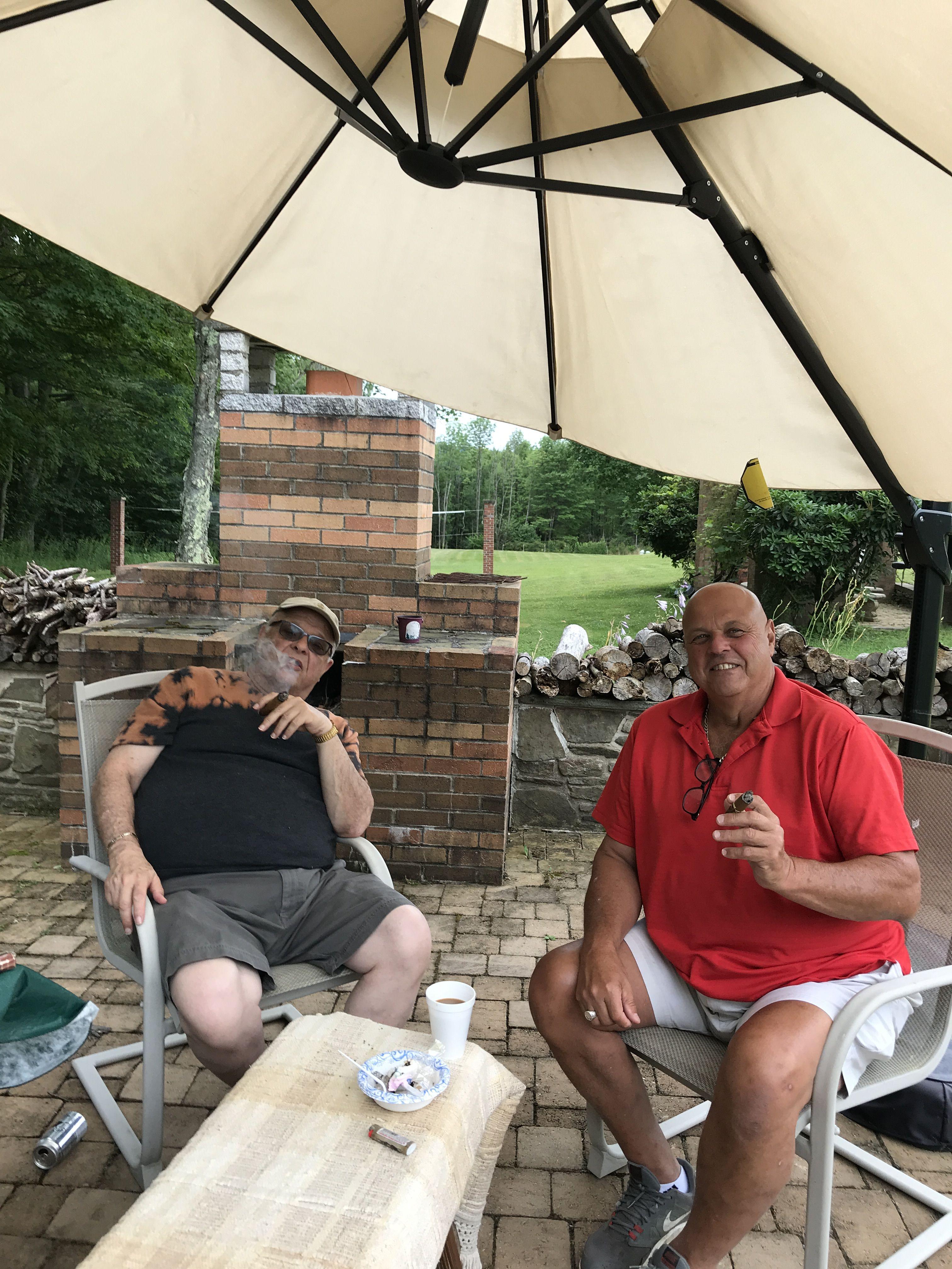 A Light Rain Made These Cigars Even More Enjoyable