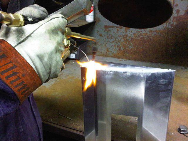 Aluminium Brazing By Www Vandf Co Uk Via Flickr Stainless Steel Fabrication Steel Fabrication Sheet Metal Work