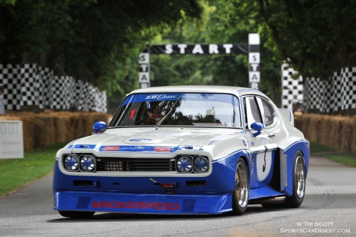 Goodwood Festival Of Speed 2014 Top 25 Cars Of Interest Ford Capri Ford Racing Ford Gt