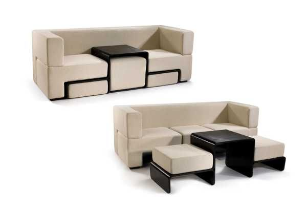 Slot Sofa Blending Transformer Ideas Into Space Saving Furniture Design Space Saving Furniture Room Furniture Design Living Room Spaces